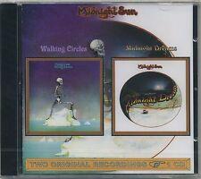 Midnight Sun-Walking Circles + Midnight DREAM-rare 2 on 1 PROG PSYCH ROCK CD