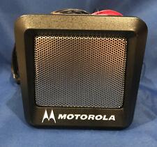 New Motorola Maratrac Power Voice Speaker Ysn4007a With Mounting Bracket Hardware