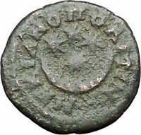 SEVERUS ALEXANDER as Caesar Authentic Ancient Roman Coin MOON Four stars i48027