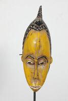 BI5 Baule Maske alt Afrika / Masque baoule ancien / Tribal baule mask