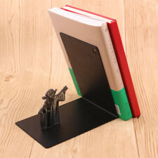 Metal Book Rack Star Wars Master Yoda Bookshelf Holders Bracket Bookend Holder