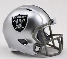 NEW NFL American Football Riddell SPEED Pocket Pro Helmet OAKLAND RAIDERS