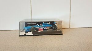 MINICHAMPS /F1 - 1998 BENETTON B198 - A WURZ - 1/43 SCALE MODEL CAR - 430 980006