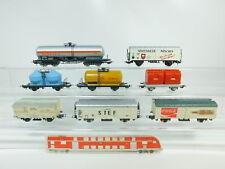 BN806-1# 8x H0/DC Güterwagen: Shell+Cola+Spatenbräu etc (Lima, Jouef etc)