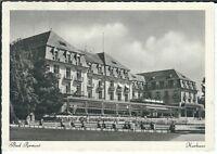 """Ansichtskarte Bad Pyrmont """"Kurhaus mit Passanten"""" - schwarz/weiß"""