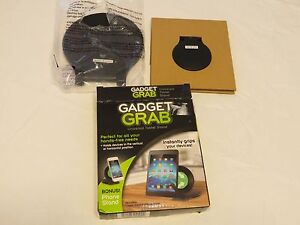 As Seen On TV Gadget Grab universal tablet cell phone stand grip 2 PC hands free