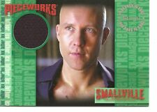 Smallville Season Four Michael Rosenbaum (Lex Luthor) Costume Trading Card #PW1