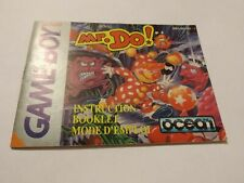 NINTENDO Game Boy - Mr. DO ! - Notice Seule