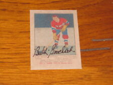 "EMILE ""BUTCH"" BOUCHARD AUTOGRAPHED ROOKIE REPRINT CARD-HOF DECEASED"