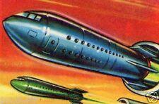 il mondo del futuro figurina 181 figurine lampo 1959 figurines lampo stickers gq