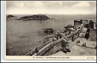 Saint-Malo Bretagne France ~1910/20 CPA Grand Bay AK