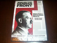 WAR ON THE GERMAN FRONT Rare Nazi Germany Documentaries WWII World II DVD NEW