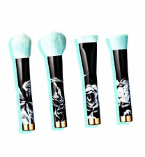 SONIA KASHUK LIMITED EDITION MAKE A FACE 4PC MAKEUP BRUSH SET BLACK GREEN