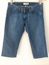 HABITUAL NEW YORK LOS ANGELES BLUE JEANS MEDIUM WASH DENIM CAPRI PANTS SIZE 28