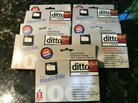 IOmega DittoMax Ditto Max Cartridges Bulk Lot of 5 NEW!!! 5GB/10GB Compressed