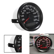 85mm 200KM/H Car Motor Stainless GPS Speedometer Waterproof Digital Gauge Great