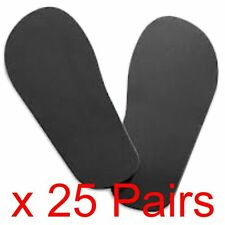 25 Pairs Of Disposable Sticky Feet For Sun Beds & Tanning Spa Salon Beauty