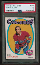 1971-72 O-Pee-Chee #148 Guy Lafleur Rookie Canadiens EX PSA 5