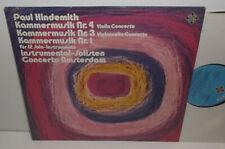 SAT 22544 Hindemith Violin Concerto Jaap Schroder Cello Concerto Anner Bylsma