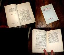 lettres 1900-1911 Rainer Maria Rilke 1934 un des 22 exempl. sur vélin
