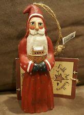 Santa Holding Noah's Ark_Midwest Of Cannon Falls_Christmas Ornament_Randy Tate