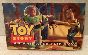 Toy Story Animated Flip Book Walt Disney Company First Edition 1995 Woody Buzz