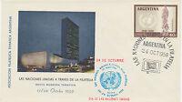 ARGENTINIEN 1959 10. Jahrestag der Allgemeinen Erklärung der Menschenrechte, SST