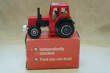 OXFORD DIECAST WELLY LITTLE RED TRACTOR FOR NFU BRITISH FARM STANDARD NEW BOXED