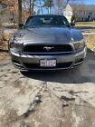 2013 Ford Mustang  2013 Ford Mustang Coupe Grey RWD Manual