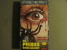 DR. PHIBES RISES AGAIN! (1972) VHS VINCENT PRICE ROBERT QUARRY HORROR LIKE NEW!
