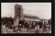 Ripley All Saints Church 1926 Postcard Yorkshire ~ SUPER IMAGE ~ FAIR QUALITY