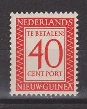 P5 Indonesia Nederlands Nieuw Guinea New Guinea port 5 MLH ong due stamp 1957