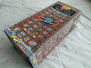 Vintage 1993 HOTEL WHODUNIT 3D Mystery Jigsaw Puzzle 504 Pieces Buffalo Games
