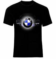 BMW M Power Logo Moto Auto T-Shirt All Sizes