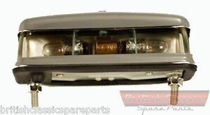 Number Plate Light, Austin Healey, Triumph, MG, Morris, Jaguar, Hillman, Mini