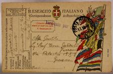 POSTA MILITARE 13 FRANCHIGIA  15.10.1918 #XP339C