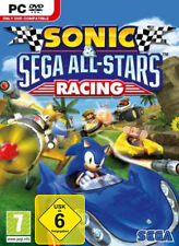 SONIC & SEGA ALL-STARS RACING (PC-SPIEL) mit Anleitung