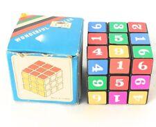 Vintage Wonderful Puzzler Cube w/ Box