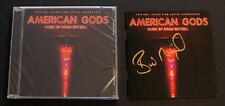 SIGNED AMERICAN GODS SOUNDTRACK CD Booklet by Brian Reitzell + Sealed CD!