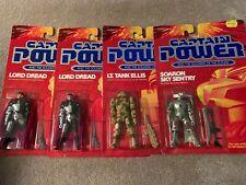 Captain Power CAPTAIN POWER soldiers of the future *SET of FOUR* MOC