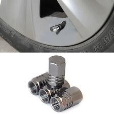 4PCS Aluminum Tire Wheel Rims Stem Air Valve Caps Tyre Cover Car Truck Bike