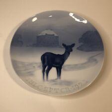 New ListingBing & Grondahl B&G Jule Aften Christmas Ermitage Castle Plate 1923