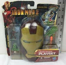 Iron Man 2 Mark III Micro Heads Playset New In Pack 2010