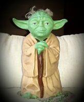 "Rare Vintage 1981 Star Wars Yoda Hand Puppet - Rubber 8"" - Lucas Film **OOB**"