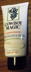 New Cowboy Magic Detangler & Shine Hair Conditioner Polish Tail Mane Horse Tack