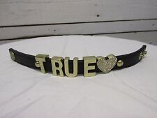 Black Band Bcb Generation U True Heart Love Women's Bracelet