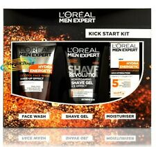 Loreal Men Expert 3pc Kick Start Kit  Gift Set For Him/Men/Brother/Husband