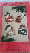 "Craft Pattern Festive Delivery 5"" No Sew Ornaments"