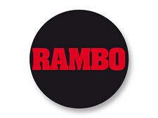 "Pin Button Badge Ø25mm 1"" Rambo The Best 80's Movies Film Cinema"