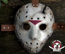 "Friday the 13th Jason Goes to Hell ""Film Accurate"" Hand painted  Hockey Mask"